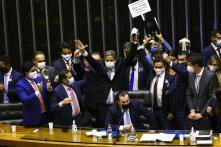 O deputado Arthur Lira é eleito presidente da Câmara dos Deputados. 02/02/2021. Foto: Marcelo Camargo / Agência Brasil